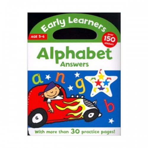 [특가]Early Learners : Alphabet Answers (Paperback)