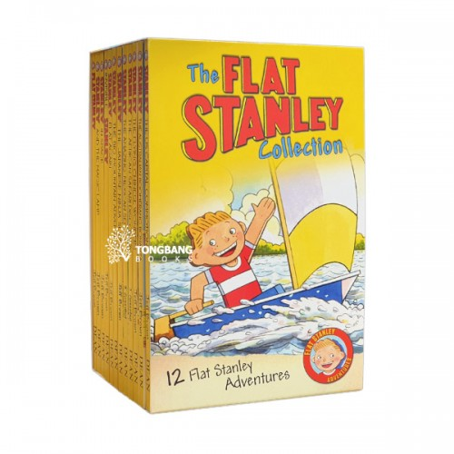 [특가세트] Flat Stanley 12 Book Collection (Paperback, 12종, 영국판) (CD 미포함)