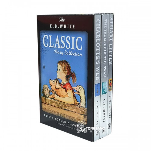 [특가세트] E.B.White Classic Story Collection 3 Books Boxed Set (Paperback)(CD미포함)