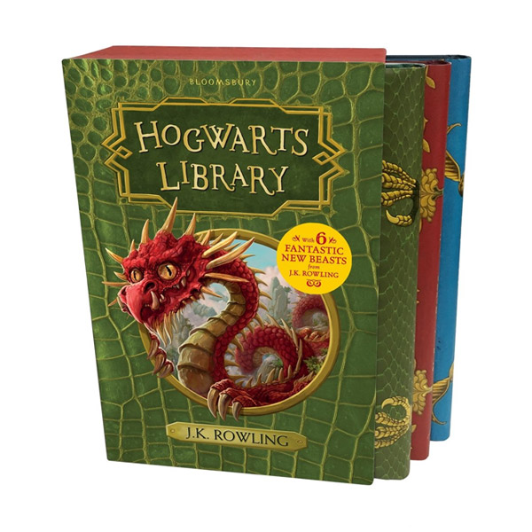 [특가세트] The Hogwarts Library 3종 Box Set (Hardcover, 영국판)