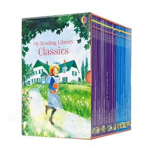 [스콜라스틱] [특가세트] Usborne My Reading Library Classics Collection - 리더스 30종 Box Set (Paperback, 영국판) (CD없음)
