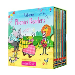 [특가세트]Usborne Phonics Readers 20 Books Box Set (Paperback, 영국판)(CD없음)