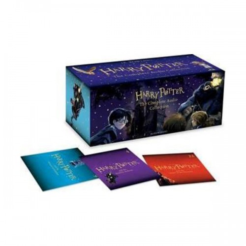 [특가세트/영국판] Harry Potter The Complete Audio Collection #01-7 CD Box Set (도서미포함)