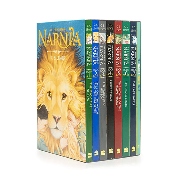 [특가세트] The Chronicles of Narnia 8 Books Boxed Set (Paperback)(CD미포함)
