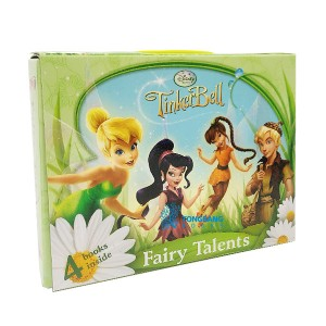 [특가]  Disney Tinkerbell Fairy Talents Story Book Box Set (Board Book) (CD미포함)
