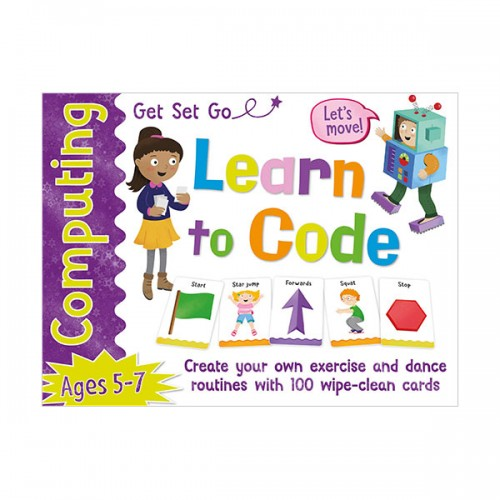 [특가] Get Set Go Computing : Learn to Code Cards (Paperback, 영국판)