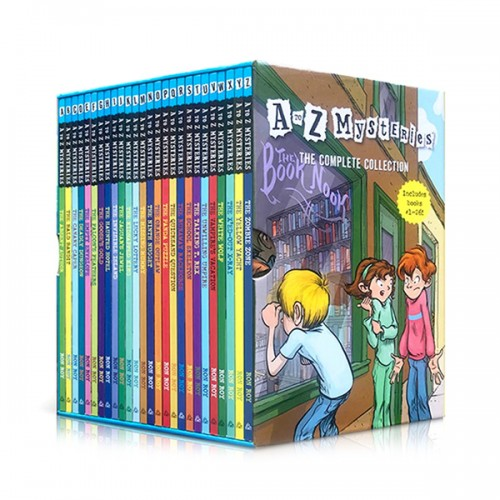 [특가세트] A to Z Mysteries #01-26 챕터북 Box Set (Paperback)(CD미포함)