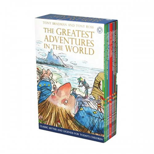 [특가세트] The Greatest Adventures in the World Collection 챕터북 10종 Box Set (Paperback,영국판) (CD없음)