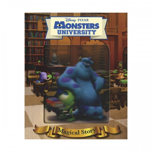[특가] Disney Pixar Monsters University Magical Story (Hardcover, 영국판)