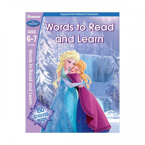 [특가]  Frozen - Words to Read and Learn (Paperback, 영국판)