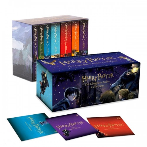 [특가세트/영국판] Harry Potter #01-7 Book & CD Set (Paperback+CD)