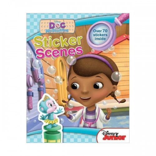 [특가] Disney Junior Doc McStuffins Sticker Scenes (Paperback, 영국판)
