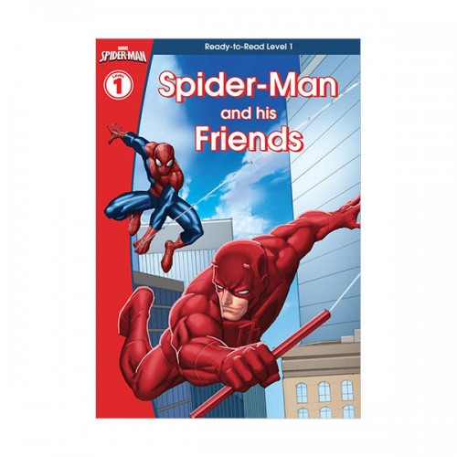 [특가] Marvel Learning : Spider-Man and His Friends (Hardcover, 영국판)