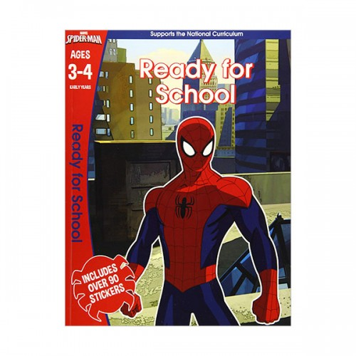 [특가] Spider-Man : Ready for School, Ages 3-4 (Paperback, 영국판)