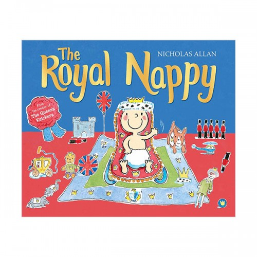 [특가] The Royal Nappy : A Royal Baby Book (Paperback, 영국판)