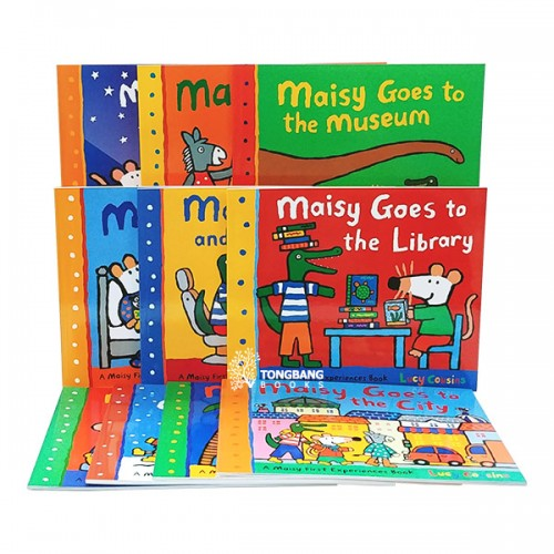 [특가세트] Maisy First Experiences - 10 Books Set (Paperback) (CD미포함)