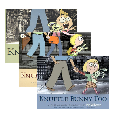 [특가세트] Mo Willems : Knuffle Bunny 픽쳐북 3종 Set (Paperback)(CD없음)