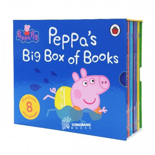 [★윈터할인+사은품] Peppa's Big Box of Books - 8 Book Set (Board book, 영국판) (CD 미포함)