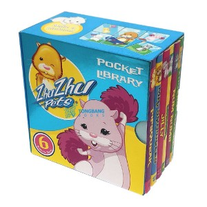[특가] Zhu Zhu Pets Pocket Library (Board book, 영국판)