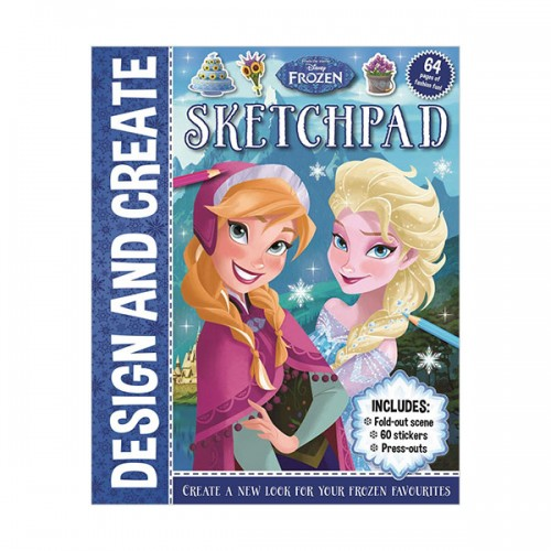 [특가] Disney Frozen Design And Create Sketchpad (Paperback, 영국판)