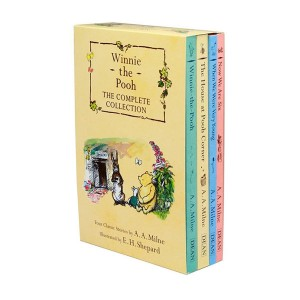 [특가세트] 위니 더 푸 : Winnie-the-Pooh The Complete Collection 4종 Box set(Paperback, 영국판) (CD미포함)