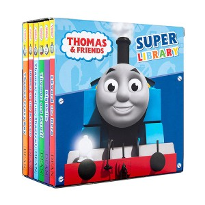 [특가세트]Thomas and Friends : Super Library 6종 Box set(Boardbook, 영국판)(CD미포함)