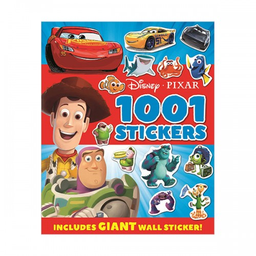 [특가] Disney Pixar - Mixed : 1001 Stickers(Paperback, 영국판)