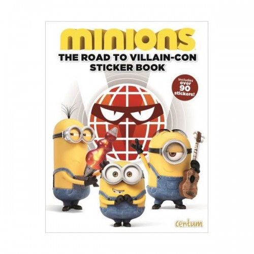 [특가] Minions : Sticker Book  (Paperback, 영국판)