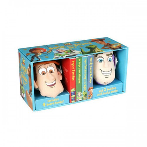 [특가] Disney Pixar Toy Story Book and Buddy Set (Board book)