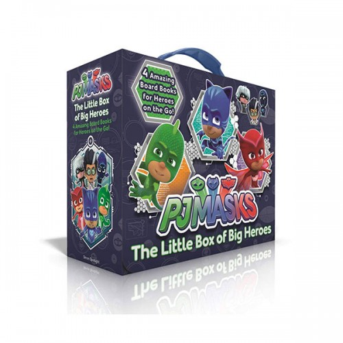 [특가세트] The Little Box of Big Heroes : PJ Masks Save the Library (Board book)