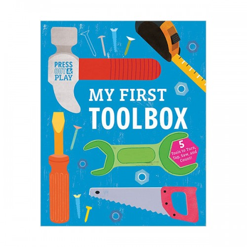 [특가] My First Toolbox : Press-out and Play (Board book)