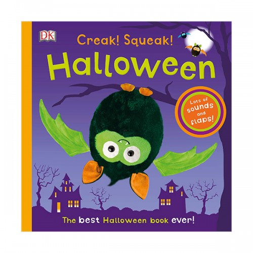 Creak! Squeak! Halloween : The Best Halloween Book Ever (Board book)