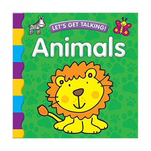 [특가] Let's Get Talking! Animals (Board book)