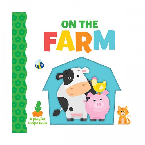 [특가] Playful Shapes : On the Farm (Board book)