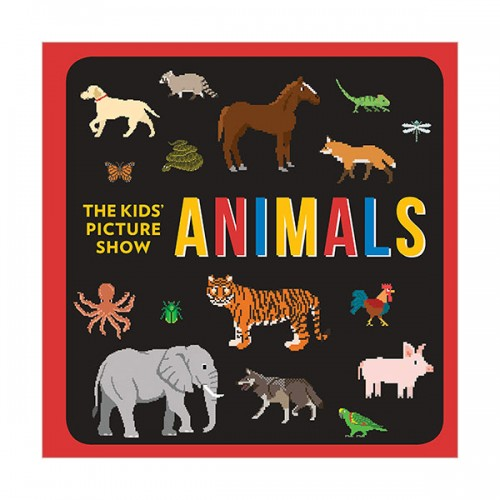 [특가] The Kids' Picture Show : Animals (Board book)