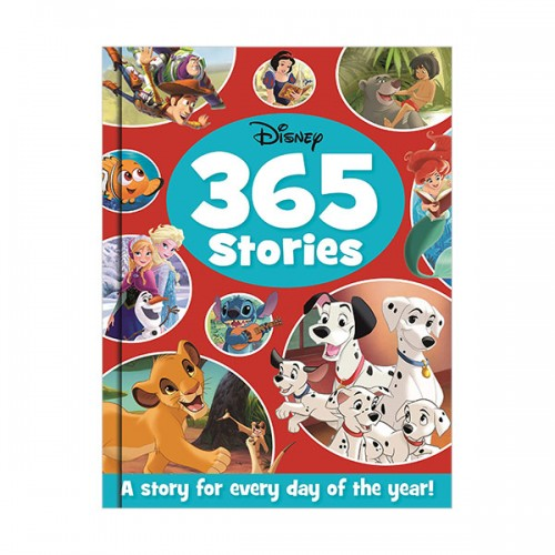 [특가] Treasury 365 Disney : 365 Stories (Hardcover, 영국판)