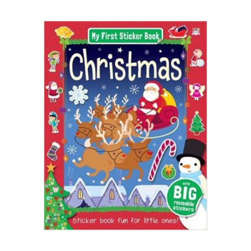[특가] My First Sticker Book : Christmas (Paperback, 영국판)