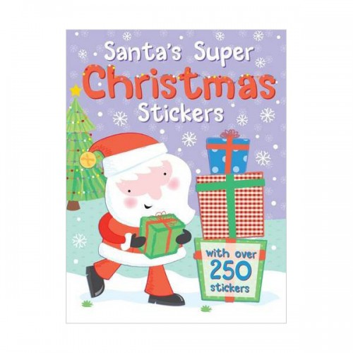 [특가] Santa's Super Christmas Stickers (Paperback, 영국판)