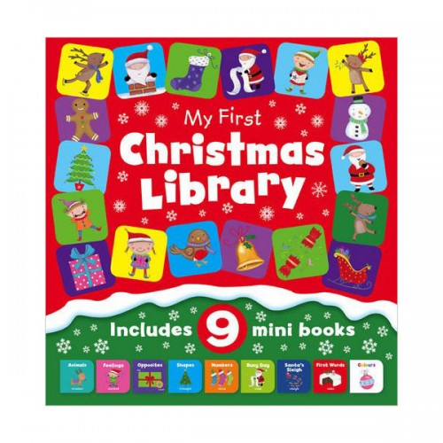 [특가세트] My First Little Christmas Library (Board Book, 영국판) (CD미포함)