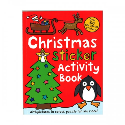 [특가] Christmas Sticker Activity Book (Paperback, 영국판)