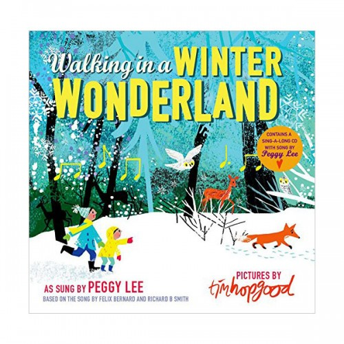 [특가] Walking in a Winter Wonderland Book & CD (Hardcover, 영국판)