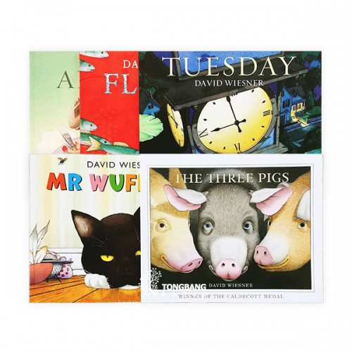 [특가세트] David Wiesner - 5 Books Set (Paperback, 영국판) (CD없음)