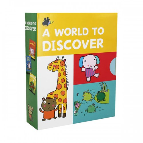 [특가세트] A World to Discover - 3 Board Book Box Set (Board Book, 영국판)