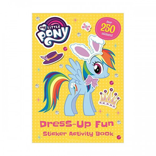 [특가] My Little Pony : Dress-Up Fun Sticker Activity Book (Paperback, 영국판)