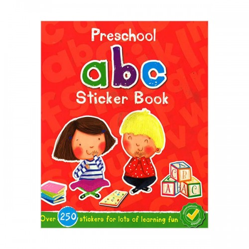 [특가] Preschool ABC Sticker Book (Paperback, 영국판)