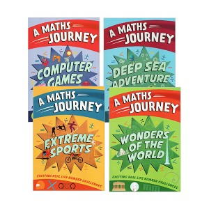 [특가세트]Go Figure Maths Journey 4 Books (Paperback, 영국판)(CD없음)