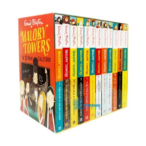 [특가세트] Malory Towers 12 Book Collection (Paperback, 영국판)(CD없음)