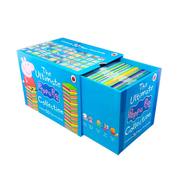 [★365할인] The Ultimate Peppa Pig Collection : 픽쳐북 50종 Box Set (Paperback, 영국판)(CD없음)