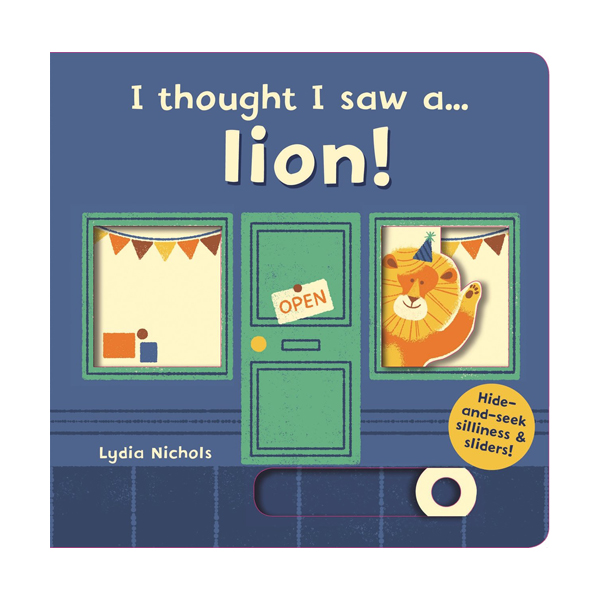 I thought I saw a... lion! (Board book, 영국판)