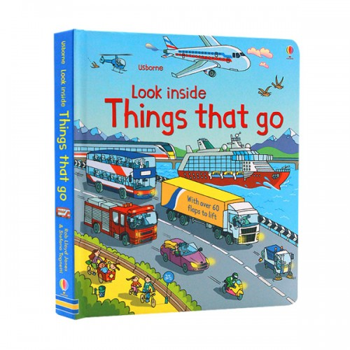 Look Inside : Things That Go (Board book, 영국판)